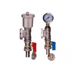 Manifold Fill/Drain Valves With Auto Air Vent