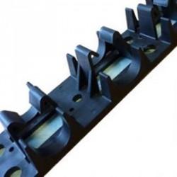Underfloor Heating Clip Rails Box of 100x 1mtr inc Self Adhesive tape