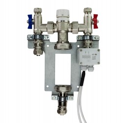 Single Zone Mixer Set Blending Valve with Thermostatic Control