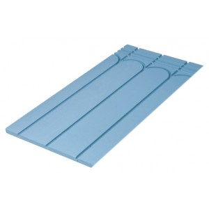 Solid Floor Routed Panel for 16 / 15 mm Underfloor Heating Pipe – 200mm Centre