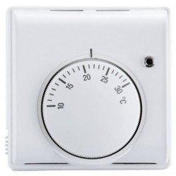 Mechanical Water UFH Thermostat with Central Knob  (Air Sensing Thermostat)
