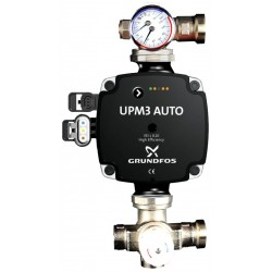 Multi Room Pump Pack Mixing Valve Unit with Grundfos A-rated Pump