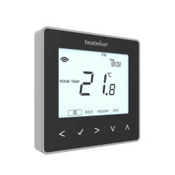 Heatmiser neoAir Wireless Smart Thermostat V2 - Black