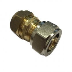 16mm x 15mm Reducer Coupling - To Copper Pipe