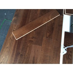 Walnut Stained Lacquered Engineered Wood Flooring