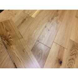 Brushed Oak Engineered Wood Flooring