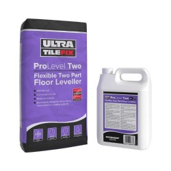 (20kg + 4L) Flexible Two Part Self Levelling Compound by UltraTileFix (Pallet Delivery/ 48 bags)