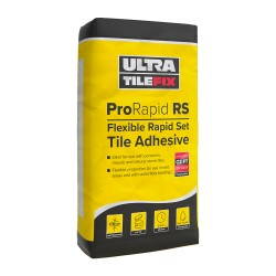 Flexible Tile Adhesive 20kg bag - UltraTileFix ProRapid Set