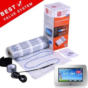 Premium 2mm Thin UltraSafe Electric Underfloor Heating 150w Mat