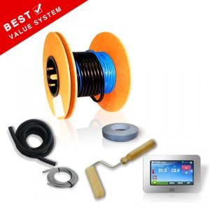 Loose Underfloor Heating Cable Kit - 200W Per Sqm